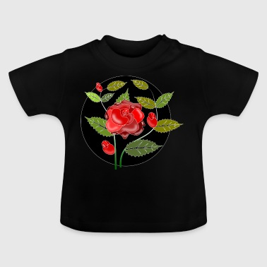 ornement Rose - T-shirt Bébé