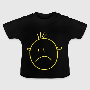 Yellow smilie - Baby T-Shirt