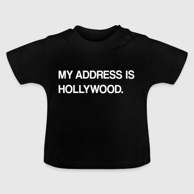 hollywood utforming - Baby-T-skjorte