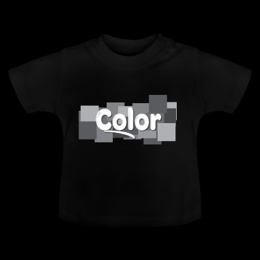 color - Camiseta bebé
