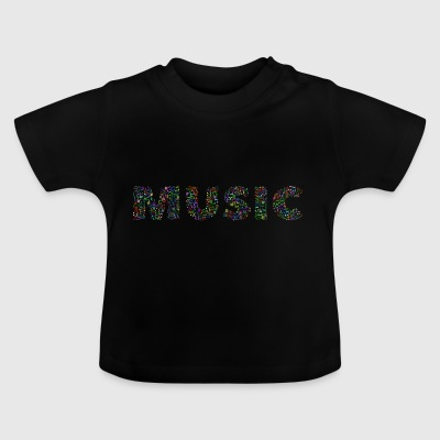Music slogan - Baby T-Shirt
