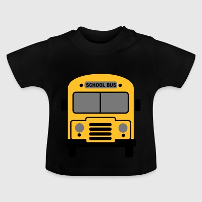 6061912 119101394 School Bus - T-shirt Bébé