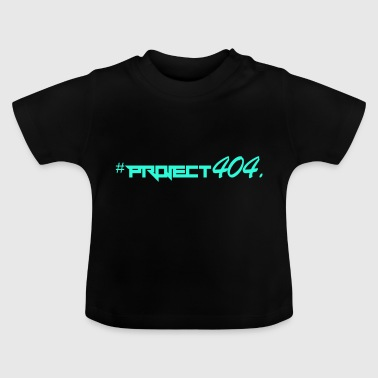 Project404 final teal - Baby T-Shirt