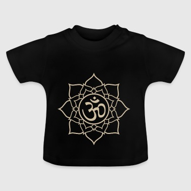 Lotus Om symbool - Baby T-shirt