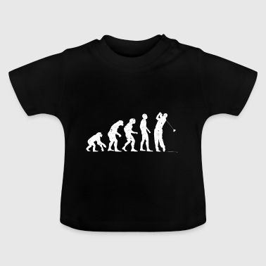 Evolution golf! - Baby T-shirt