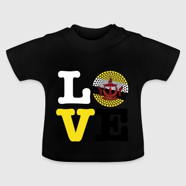 Brunei heart - Baby T-Shirt
