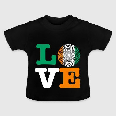 IVORY COAST heart - Baby T-Shirt
