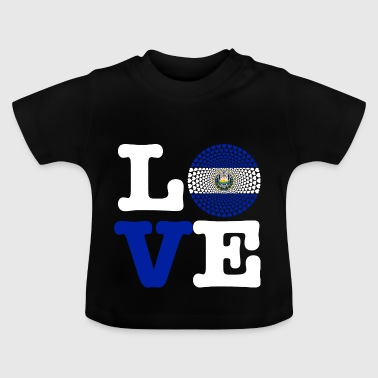 EL SALVADOR HEART - Baby T-Shirt
