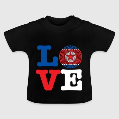 KOREA REP DEMO HJÄRTA - Baby-T-shirt