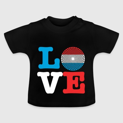 LUXEMBOURG HEART - Baby T-Shirt
