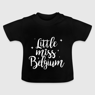 Little Miss Belgique - T-shirt Bébé