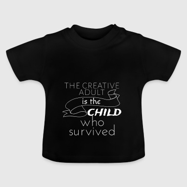 The creative adult - Baby T-Shirt