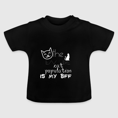 Cat population - Baby T-Shirt