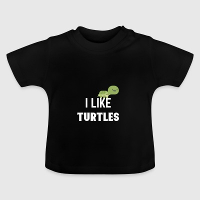 tortues - T-shirt Bébé