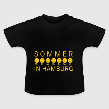Sommer in Hamburg - Baby T-Shirt
