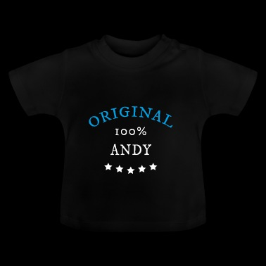 Original 100% Andy gåva - Baby-T-shirt