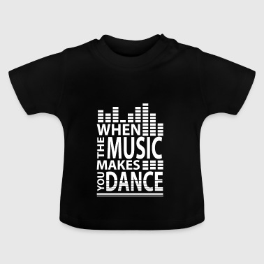 Music Music Drugs Rhythm Beat High Equalizer - Baby T-Shirt