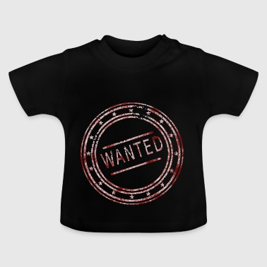Wanted - stamp - Baby T-Shirt