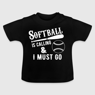 softball - T-shirt Bébé