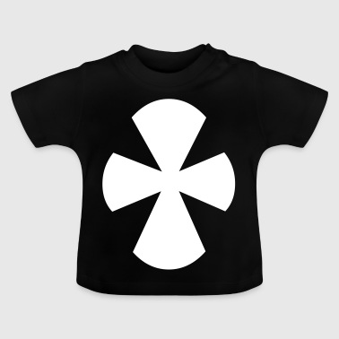 Christliches Kreuz - Baby T-Shirt