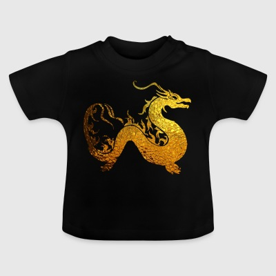 Golden Dragon - Baby T-Shirt