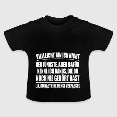 Ich kenne Bands - Baby T-Shirt