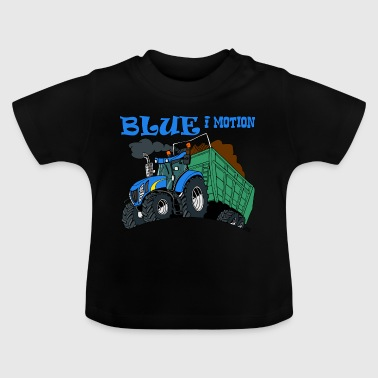 Blue in motion - Baby T-Shirt