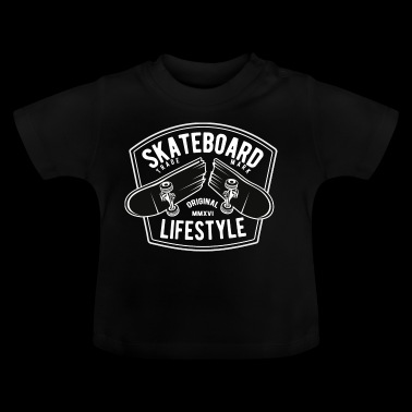 Skateboard Lifestyle2 - Baby T-Shirt