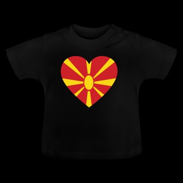 Love love gift Macedonië Macedonië - Baby T-shirt