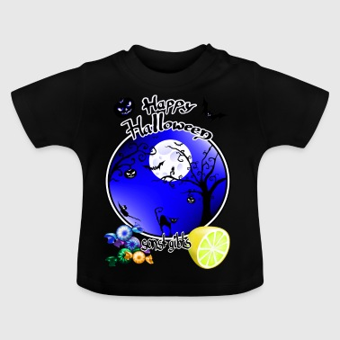 Sweets anders is er zure blauw - Baby T-shirt