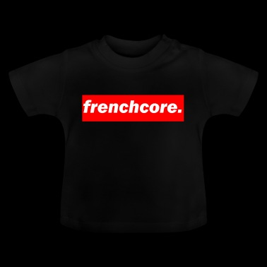techno Mischpult rode bas bpm frenchcore - Baby T-shirt