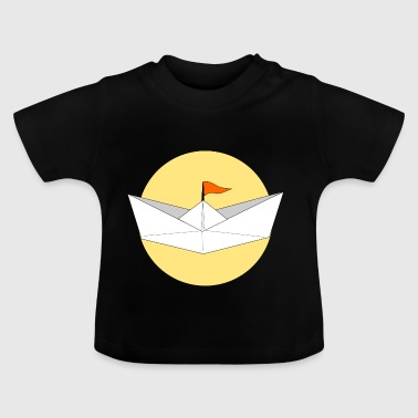 origami paper plane paper airplane8 - Baby T-Shirt