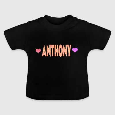 Anthony - Baby-T-skjorte
