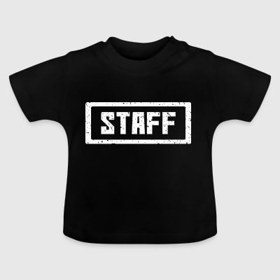 Staff stamp white - Baby T-Shirt