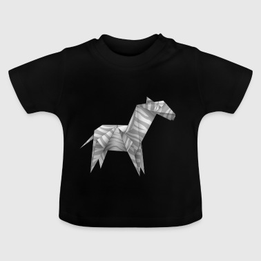 origami paper plane paper airplane38 - Baby T-Shirt