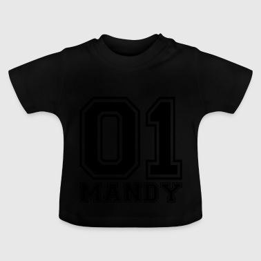 Mandy - Name - Baby T-Shirt