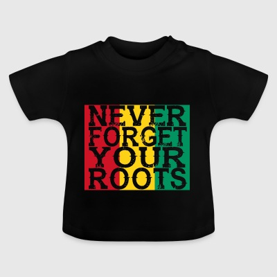 never forget roots home Guinea - Baby T-Shirt