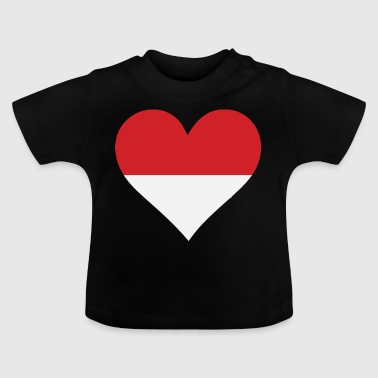 A Heart For Indonesia - Baby T-Shirt