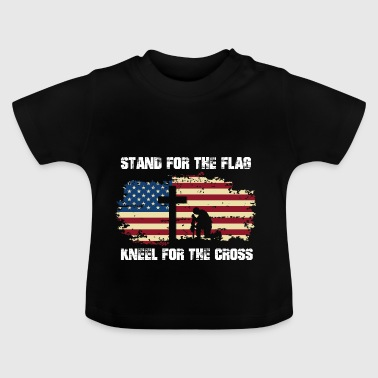 Nationalsang USA stolthed gave jul - Baby T-shirt