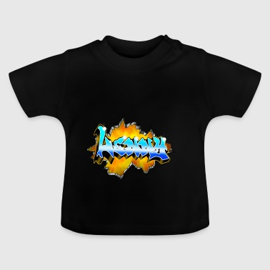 LENNY Graffiti - Baby-T-shirt