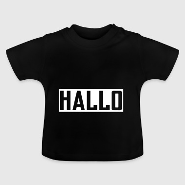 Halli HELLO PARTNER LOOK BEZIEGUNG LOVE KÆRESTE - Baby T-shirt