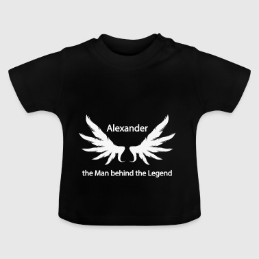 Alexander the Man behind the Legend - Baby T-Shirt