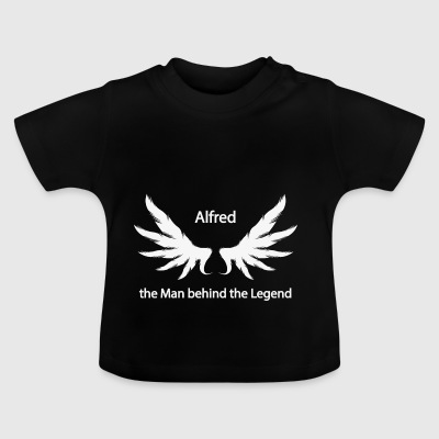 Alfred the Man behind the Legend - Baby T-Shirt