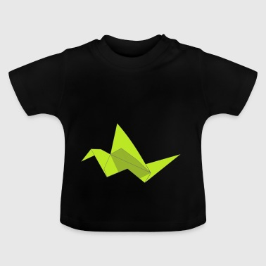 origami paper plane paper airplane47 - Baby T-Shirt