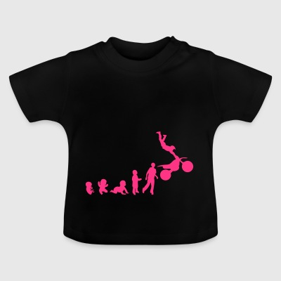 Evolution freestyle 3 motrocycle motorcross - Baby T-shirt