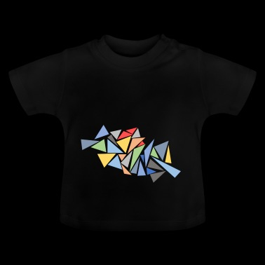 Triangles modernes - T-shirt Bébé