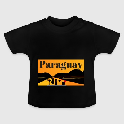 Paraguay design - Baby T-shirt