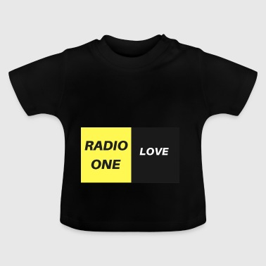 RADIO ONE LOVE - Camiseta bebé