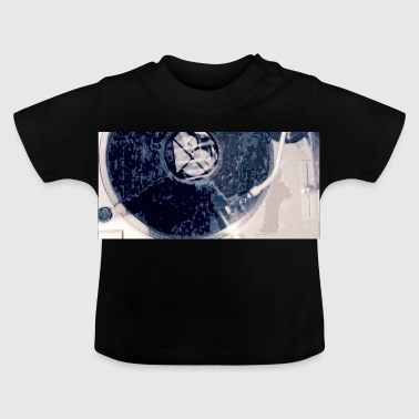 tbr turntable navy - Baby T-shirt
