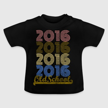 Old School 2016 - T-shirt Bébé